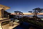 Cape Town luxury villa, with big heated swimming pool
