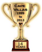 Cape Villas 14 Years in Luxury Travel serving, Cape Town