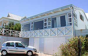 Vacation beach bungalow in Bakoven, family friendly