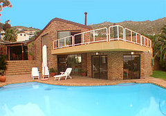 Vacation holiday home in Llandudno, with private pool